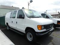 Super Duty Ford cargo van with a powerful V8 to haul