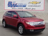 2007 Edge SEL **Moonroof/Sunroof**Leather, Memory