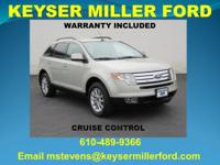 Light Sage Metallic 2007 Ford Edge SEL Features