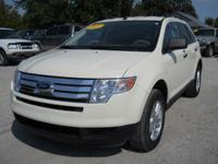 Options Included: N/A2007 Ford Edge SE White, 76,500