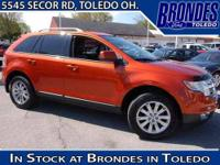 Live on the Edge!!! This 2007 SEL Edition Ford Edge is