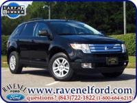 Options Included: 2007 Ford Edge SEL ** One Owner New