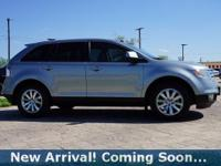 2007 Ford Edge SEL in Pewter Metallic, This Edge comes