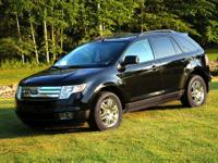 2007 Ford Edge SEL-FWD Color: Black Interior: Charcoal