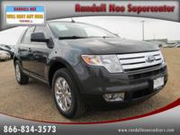 Options Included: N/A2007 FORD Edge FWD 4dr SEL PLUS