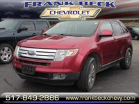 Options:  2007 Ford Edge Sel Plus|Awd Sel Plus 4Dr