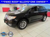 New Price! ONE OWNER, PANORAMIC ROOF, Edge SEL, 4D