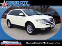 Come test drive this 2007 Ford Edge! A great vehicle
