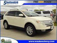 Options:  2007 Ford Edge Sel|Sel 4Dr Suv|3.5L|6