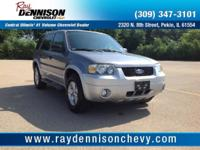 Gray 2007 Ford Escape XLT FWD 4-Speed Automatic with