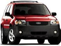 Duratec 3.0L V6, AWD. Recent Arrival! 2007 Ford Escape