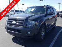 2007 Ford Expedition Limited Black Clearcoat. There's