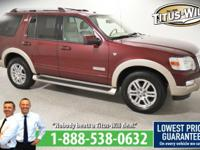 Recent Arrival! 2007 Ford Explorer Maroon, Completely