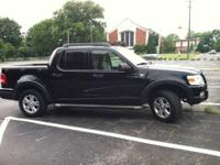 2007 Black Ford Explorer Sport Trac. Great truck in
