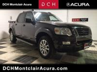 Clean CARFAX. 2007 Ford Explorer Sport Trac Limited 4WD