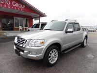 Options:  2007 Ford Explorer Sport Trac Heated Leather