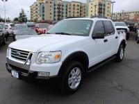 New Price! Ford Explorer Sport Trac White 4WD.