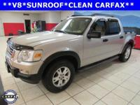 New Price! CLEAN CARFAX, SUNROOF, Explorer Sport Trac