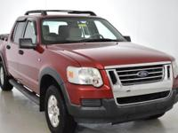 Clean CARFAX. This 2007 Ford Explorer Sport Trac XLT in