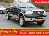 New Price! Clean CARFAX. This 2007 Ford F-150 Lariat in