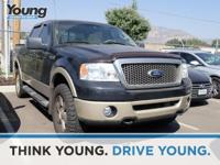Clean CARFAX. 2007 Ford F-150 4WD 4-Speed Automatic