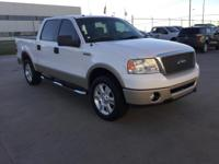 Recent Arrival! Ford F-150 White 4WD   Don't miss your