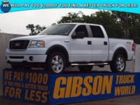 WWW.GIBSONTRUCKWORLD.COM*2007 Ford F150 FX4 Leather