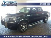 Black 2007 Ford F-150 Harley-Davidson 4WD 4-Speed