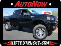 2007 FORD F-150 SUPER CREW HARLEY DAVISON 4X4 LIFTED