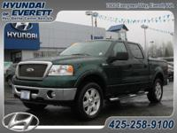 4x4 Lariat! Leather, power seat, hard tonneau cover,
