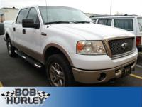 Ford F-150 White 4WDRecent Arrival! Clean CARFAX.Don't