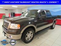 F-150 Lariat, 5.4L V8 EFI 24V FFV, and 4WD. A great
