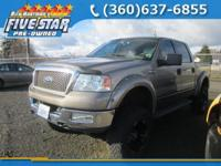 Lariat trim. Leather Interior, CD Player, Fourth
