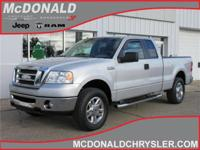 Options:  2007 Ford F-150 Xlt 4X4 Super Cab Styleside