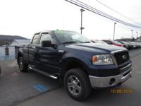 This Dark Blue Pearl Clearcoat Metallic 2007 Ford F-150