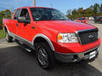 This 2007 Ford F-150 2dr - features a 5.4L 8 CYLINDER