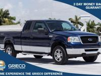 New Price! Clean CARFAX. 2007 Ford F-150 XLT Dark Blue