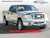 Options:  2007 Ford F-150 4Wd Supercrew 139 Xlt|4-Speed