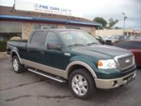 THIS  IS A VERY SHARP 2007 FORD F-150 4WDV-8 AUTOMATIC.