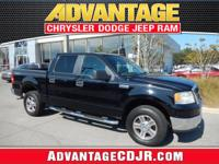 This Black 2007 Ford F-150 XLT has LOW LOW Miles!! A