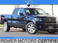 Options:  2007 Ford F-150 Xlt Black