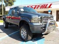 THIS IS A SWEET 2007 FORD F250 HARLEY DAVIDSON EDITON