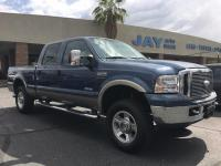 Options:  2007 Ford Super Duty F-250 4X4 Crew Cab