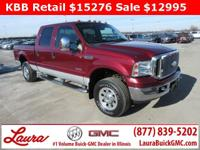 1-Owner New Vehicle Trade! XL 6.0 V8 Power Stroke Crew