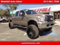 2007 Ford F250SD XLT Crew Cab Turbo Diesel!!!Lifted
