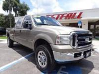 THIS IS A NICE 2007 FORD F350 XLT CREW CAB LONGBED FX4