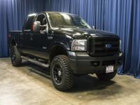Clean Carfax 4x4 Diesel Lifted Truck with Steering