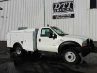 Great Running Utility Truck With Only 44K Miles. 2007