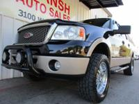 LIFTED 4X4 TRUCK WITH MANY OPTIONS, CARFAX CERTIFIED,