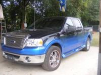 2007 Ford F150 Lariat Super Crew Cab, customized by